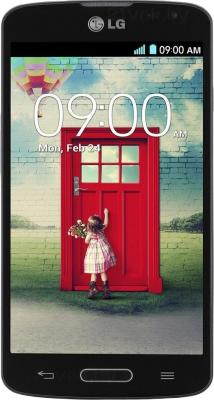 Смартфон LG L90 / D405 (черный) - общий вид