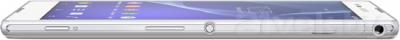 Смартфон Sony Xperia T2 Ultra Dual / D5322 (белый) - вид сбоку