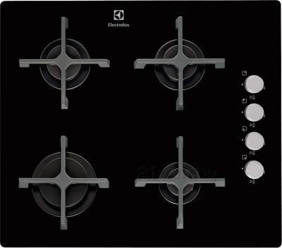 Газовая варочная панель Electrolux EGT56142NK - общий вид