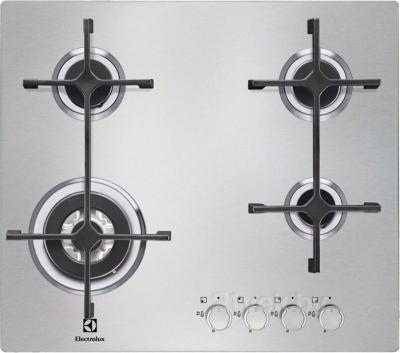 Газовая варочная панель Electrolux EGS56648NX - общий вид