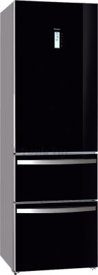 Холодильник с морозильником Haier AFD631GB - общий вид