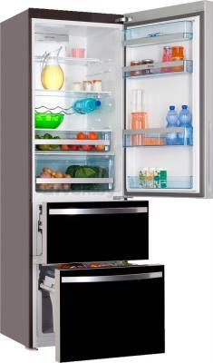 Холодильник с морозильником Haier AFD631GB - в открытом виде