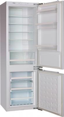 Холодильник с морозильником Haier BCFE625AWRU - в открытом виде