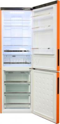 Холодильник с морозильником Haier C2FE636COJRU - в открытом виде