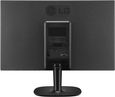 Монитор LG 27MP35VQ-B - вид сзади
