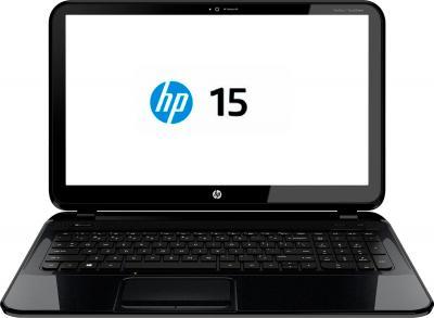 Ноутбук HP 15-g002sr (F7R96EA) - фронтальный вид