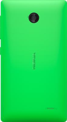 Смартфон Nokia X (зеленый) - задняя панель