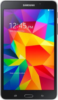 Планшет Samsung Galaxy Tab 4 7.0 / SM-T231 (3G, черный) - фронтальный вид