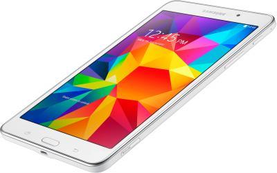 Планшет Samsung Galaxy Tab 4 7.0 / SM-T231 (3G, белый) - вид лежа