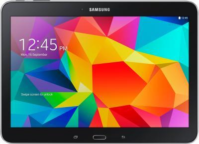 Планшет Samsung Galaxy Tab 4 10.1 16GB 3G / SM-T531 (черный) - фронтальный вид