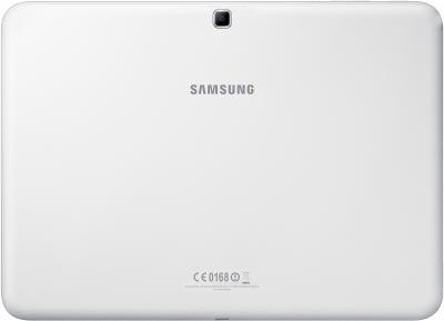 Планшет Samsung Galaxy Tab 4 10.1 16GB 3G / SM-T531 (белый) - вид сзади