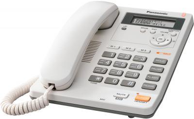 Проводной телефон Panasonic KX-TS2570 (белый) - общий вид