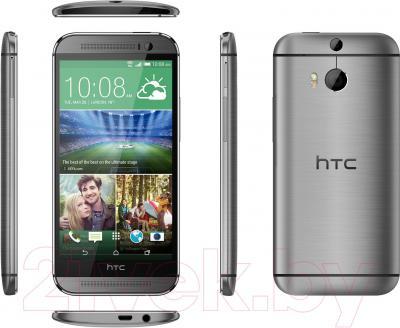 Смартфон HTC One / M8 (серый металлик) - полный обзор панелей