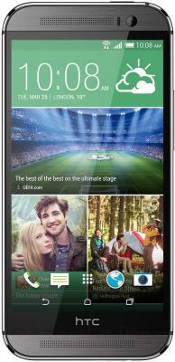 Смартфон HTC One / M8 (серый металлик) - общий вид