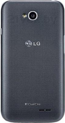 Смартфон LG D285 (L65 Dual) (Black) - вид сзади