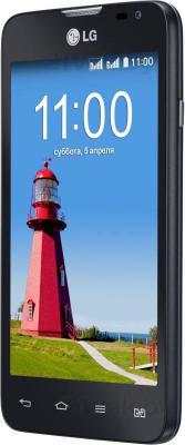 Смартфон LG D285 (L65 Dual) (Black) - полубоком