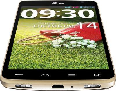 Смартфон LG Optimus G Pro Lite Dual (D686) (Gold) - вид снизу