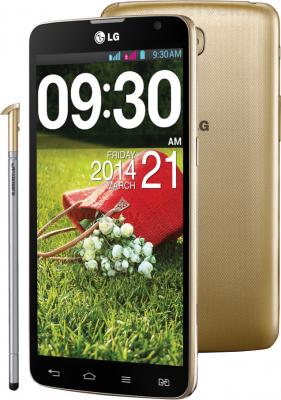Смартфон LG Optimus G Pro Lite Dual (D686) (Gold) - со стилусом