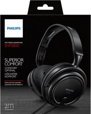 Наушники Philips SHP2000 - упаковка