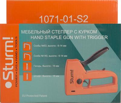 Механический степлер Sturm! 1071-01-S2 - упаковка