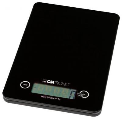 Кухонные весы Clatronic KW 3366 (Black Glass) - общий вид