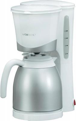 Капельная кофеварка Clatronic KA 3327 (белый) - общий вид