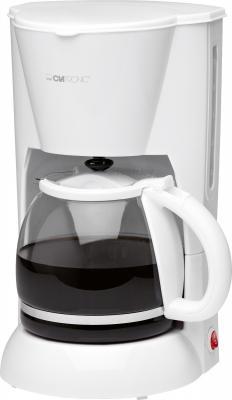 Капельная кофеварка Clatronic KA 3473 (белый) - общий вид