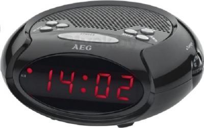 Радиочасы AEG MRC 4136 (Black) - общий вид