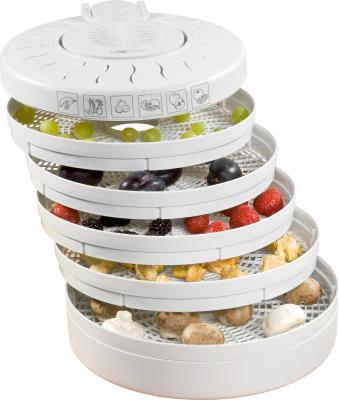 Сушка для овощей и фруктов Clatronic DR 2751 - с раскрытыми противнями