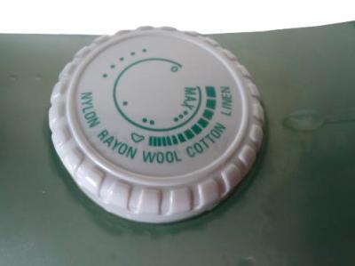 Утюг Clatronic DB 3105 (White-Green) - регулятор температуры