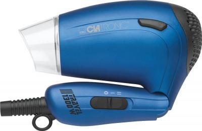 Компактный фен Clatronic HTD 3429 (синий) - в сложенном виде