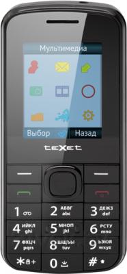 Мобильный телефон TeXet TM-103 (черный) - общий вид