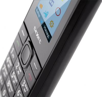 Мобильный телефон TeXet TM-103 (черный) - в увеличенном виде