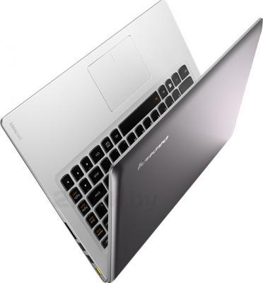 Ноутбук Lenovo U330P (59407216) - вид сзади