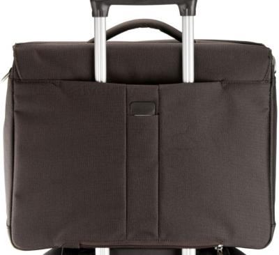 Сумка для ноутбука Samsonite Cordoba Duo (V93*03 018) - крепление на чемодане