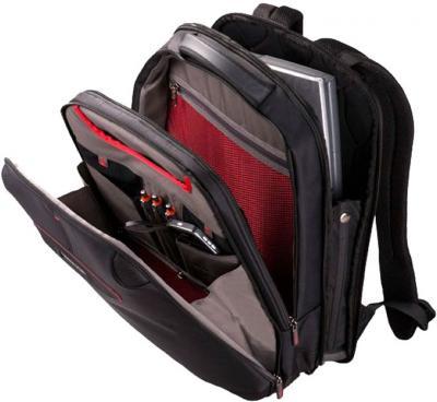 Рюкзак для ноутбука Samsonite Laptop Pillow 3 (U43*09 006) - в раскрытом виде