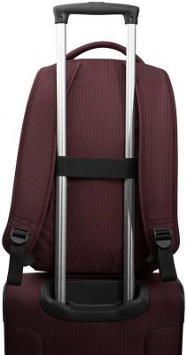 Рюкзак городской Samsonite New Spark (19U*00 012) - способ крепления на ручку чемодана