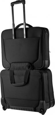 Сумка для ноутбука Samsonite Pro-Tect (V73*09 002)  - крепление на чемодане