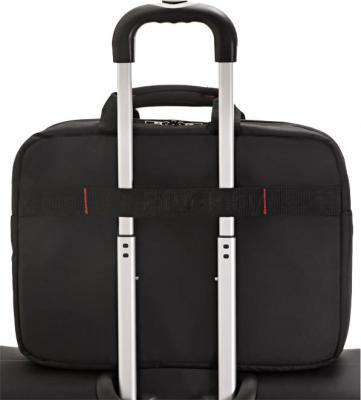 Сумка для ноутбука Samsonite GuardIT (88U*09 003) - крепление на чемодане