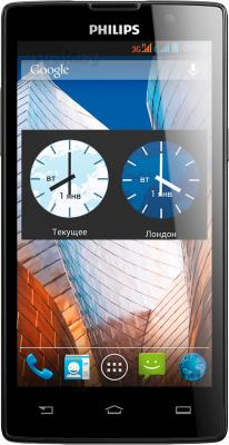 Смартфон Philips W3500 (Black) - общий вид