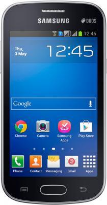 Смартфон Samsung S7392 Galaxy Trend Duos (Black) - общий вид