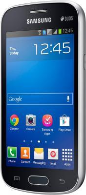 Смартфон Samsung S7392 Galaxy Trend Duos (Black) - вполоборота