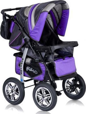 Детская универсальная коляска Riko Driver (Magenta) - прогулочная