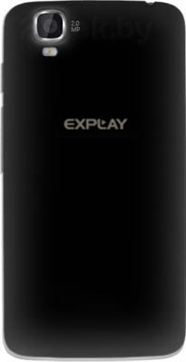 Смартфон Explay Hit (Black) - задняя панель