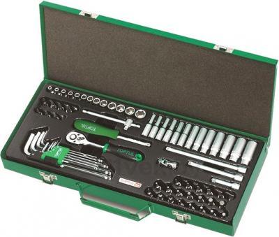 Универсальный набор инструментов Toptul GCAD7202 (72 предмета) - общий вид