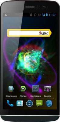 Смартфон Explay Blaze (черный) - общий вид