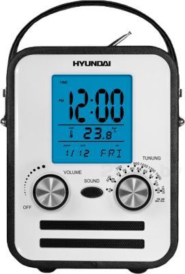 Радиоприемник Hyundai H-1626 (Black) - общий вид