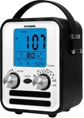 Радиоприемник Hyundai H-1626 (Black) - вид сбоку