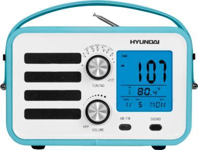 Радиоприемник Hyundai H-1628 (Light Blue) - общий вид