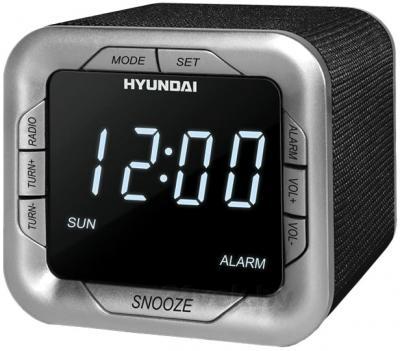Радиочасы Hyundai H-1505 (Black) - общий вид